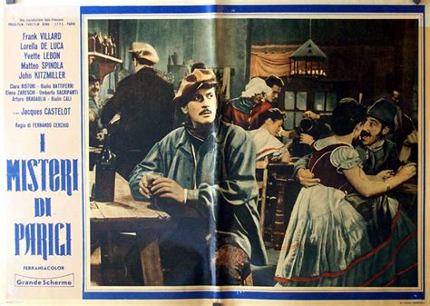 misteri film up quot i misteri di parigi quot movie poster quot misterios de paris
