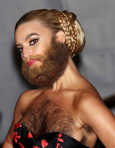 famous chest hair amazing collection for all famous women sprout beards