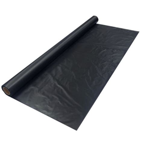 40 Roll Black Pet Bags essentials 4010 heavy duty banquet roll plastic