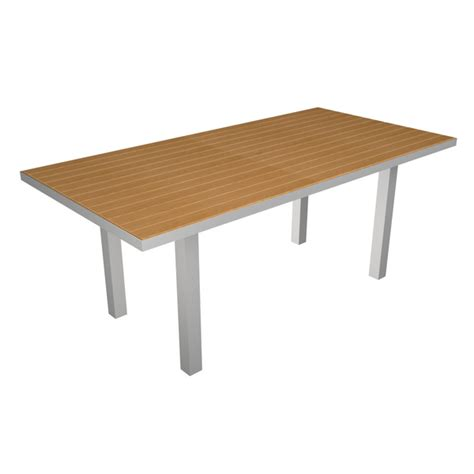 dining table 72 x 36 dining table 36 x 72 in rectangle recycled plastic