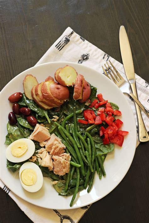 Fast Easy Dinner Salad Nicoise by Whole 30 Dinner Ideas Cheap Eats