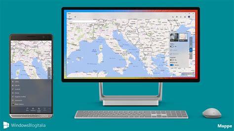 mapper windows mappe per windows e windows mobile si aggiorna
