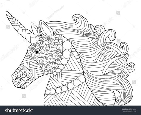 Or Adults Colouring Pages For Adults Unicorns