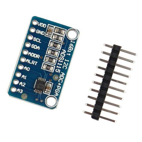 16bit I2c Ads111s Module Adc 4 Channel With Pro Gain Lifier Ardui 16 bit i2c ads1115 module adc 4 channels w pro gain lifier blue free shipping dealextreme