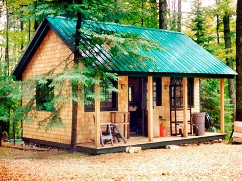 free cottage house plans build a tiny cabin studio design gallery best design