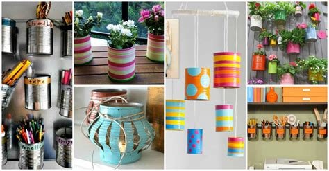 crafty diy projects  tin cans