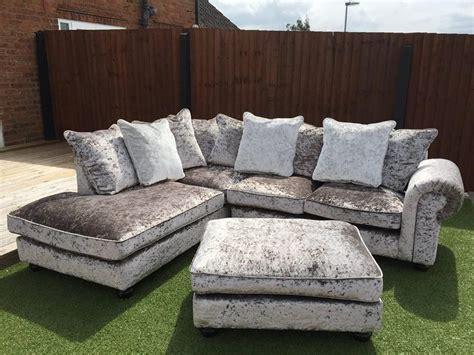 crushed velvet sofa grey crushed velvet sofa search velvet