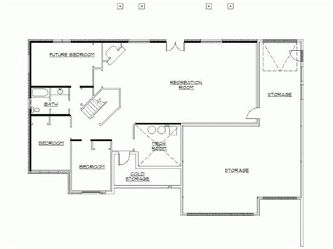 rambler floor plans with basement the 28 best rambler house plans with walkout basement house plans 11654