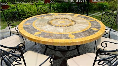 Mosaic Patio Table Top Top Summer Outdoor Trends For 2017 Reliable Remodeler