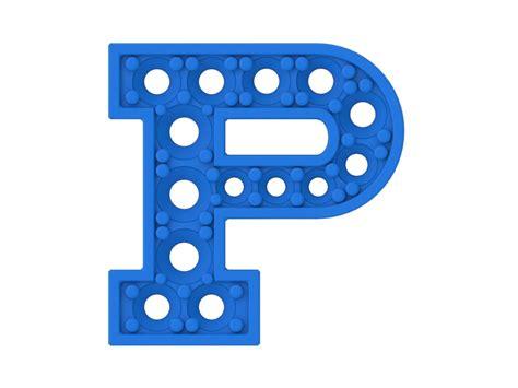 A P P letter p