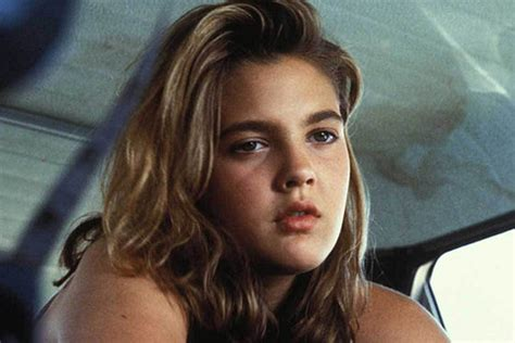 pictures of drew barrymore growing up in popsugar