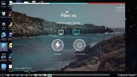 tutorial do filmora filmora tutorial how to crop video youtube