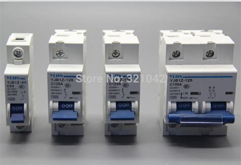 free shipping 1p 80a 100a 125a 220v dc circuit breaker