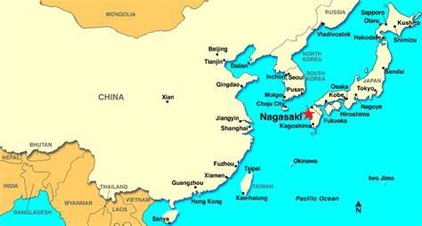 nagasaki map nagasaki map