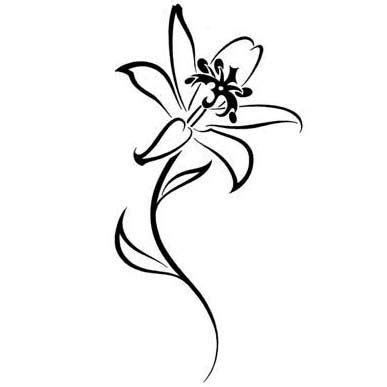 lily tribal tattoo designs best 25 lilies ideas on lillies
