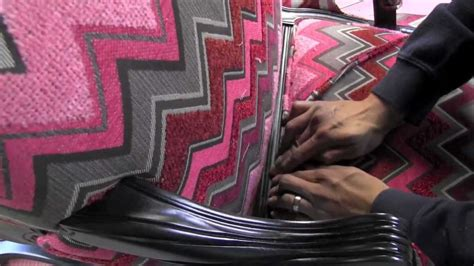 upholstery in es upholstery how to attach piping cording welting to an