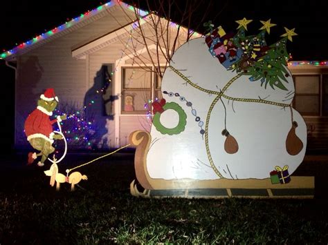diy animated yard decorations diy do it your self 25 best ideas about grinch decorations on whoville decorations diy