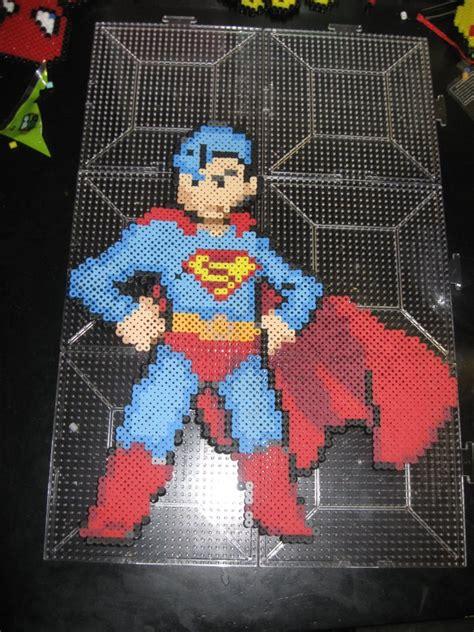 perler superman perler superman by rushtalion on deviantart
