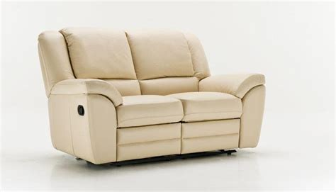 two seater leather sofa with electric recliner alba