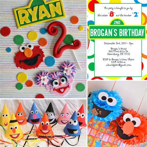 birthday themes sesame street party ideas for a sesame street themed birthday party