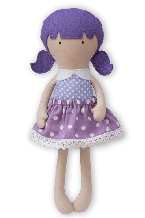 Handmade Rag Doll Patterns - cloth doll handmade rag doll 12 inches my from ribizli design