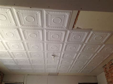 Build It Ceiling Tiles Hometalk Easy Diy Faux Tin Ceiling