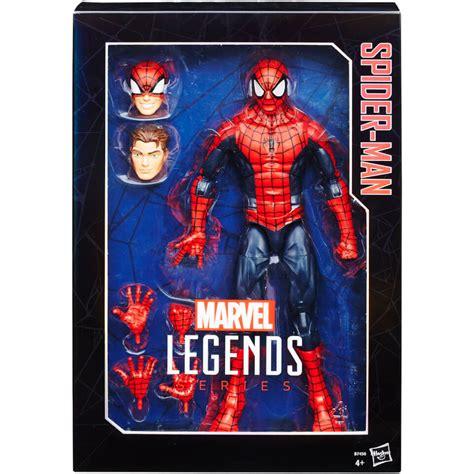 Spider Marvel Legends Hasbro 12 Figure marvel legends spider 12 inch figure toys zavvi