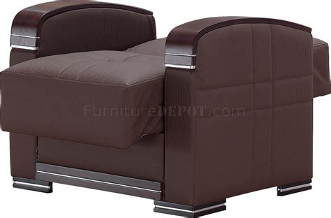 Bonded Leather Sofa Bed by Alpine Sofa Bed In Brown Bonded Leather By Empire W Options