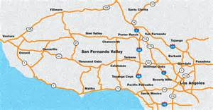 san fernando valley map quotes