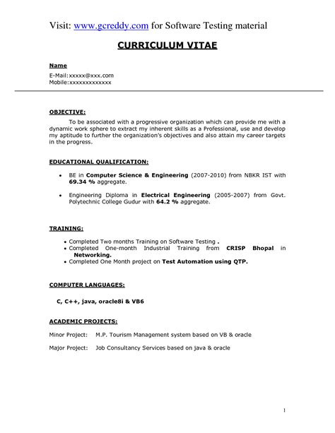 sle science resume 28 images computer science resume