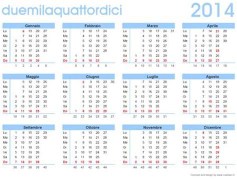 calendario con settimane calendario 2014 da stare calendario 2014 gratis in pdf