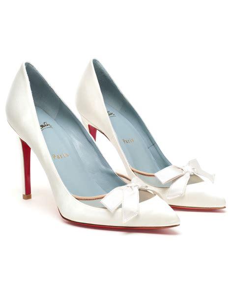 Wedding Shoes Louboutin by Louboutin Bridal Shoes Sale Elsoc
