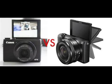 best youtube/vlogging camera? (canon g7 x vs. sony a5100