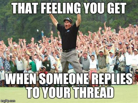 Celebration Meme - golf celebration imgflip