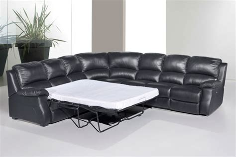corner lounge with sofa bed and recliner elite leather corner sofa with electric recliner and