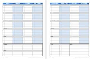Student Calendar Planner Template by Printable Weekly Student Planners