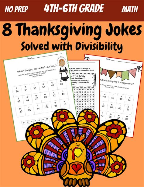 printable math jokes free divisibility worksheets 5th grade 1000 ideas about