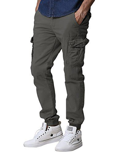 Jogger X Cargo Celana Chino Denim Joger Cargo match s regular fit chino jogger cargo pant 34w x 33l 6539 army gray frenzystyle