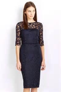 navy lace panel shift dress lace dresses dresses wallis