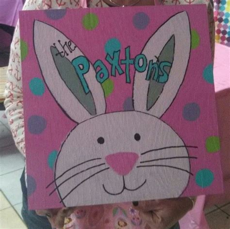 Diy Mit Kindern 4659 by Easter Bunny Painting On Wood Easter Ideas