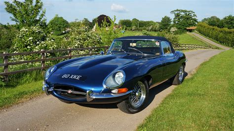 1962 jaguar e type paint correction leather refurbishment exclusive car care