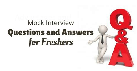 Questions For Mba Freshers With Answers by 10 Best Mock Questions And Answers For Freshers