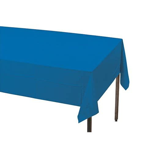 Royal Blue Table Covers by Royal Blue Plastic Table Cover