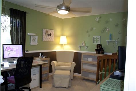 nursery office combo ideas  pinterest dark