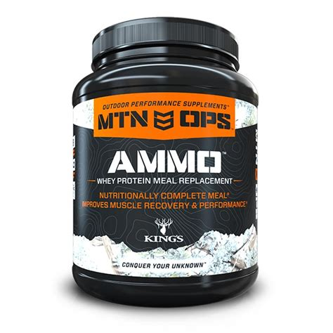 protein replacement mtn ops ammo whey protein replacement for outdoor