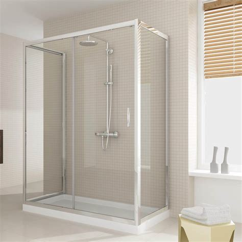 box doccia altezza box doccia due ante fisse e anta fissa con porta