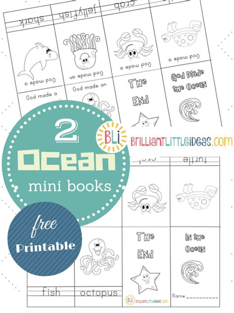a fangirls view thematic sunday books dealing with civil 2 ocean theme mini books brilliant little ideas