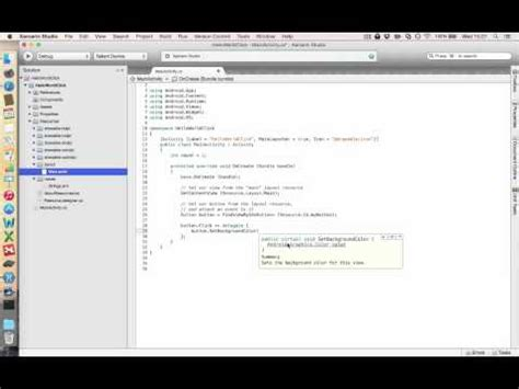xamarin tutorial for beginners pdf a beginner start for android app development xamarin forums