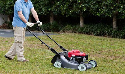 honda mowers sydney honda hru19m1 lawn mower get sydney