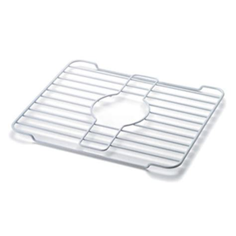 kitchen sink protector rack